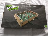 Table football, as new