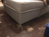 Divan base double bed only