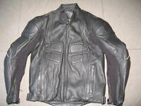 Motorbike Jacket . Clover Leather.