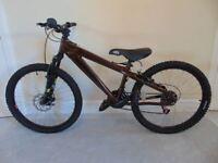 "Aluminium Rockrider Hardtail Kids' Mountain Bike (24"" tyres, 12.5"" frame)(suit 9 to 12 yr old)"