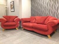 Harvey's 3 seater sofa and matching armchair - in fantastic condition!
