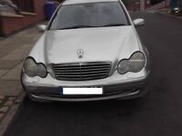 Mercedes c220 diesel 2002 for sale £550 ono