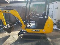 JCB 801.4 1.5 tonne Mini digger 2009 ONLY 1500 Hrs!