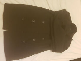 Black Sisley coat (Size 50/Large); Minimal wear