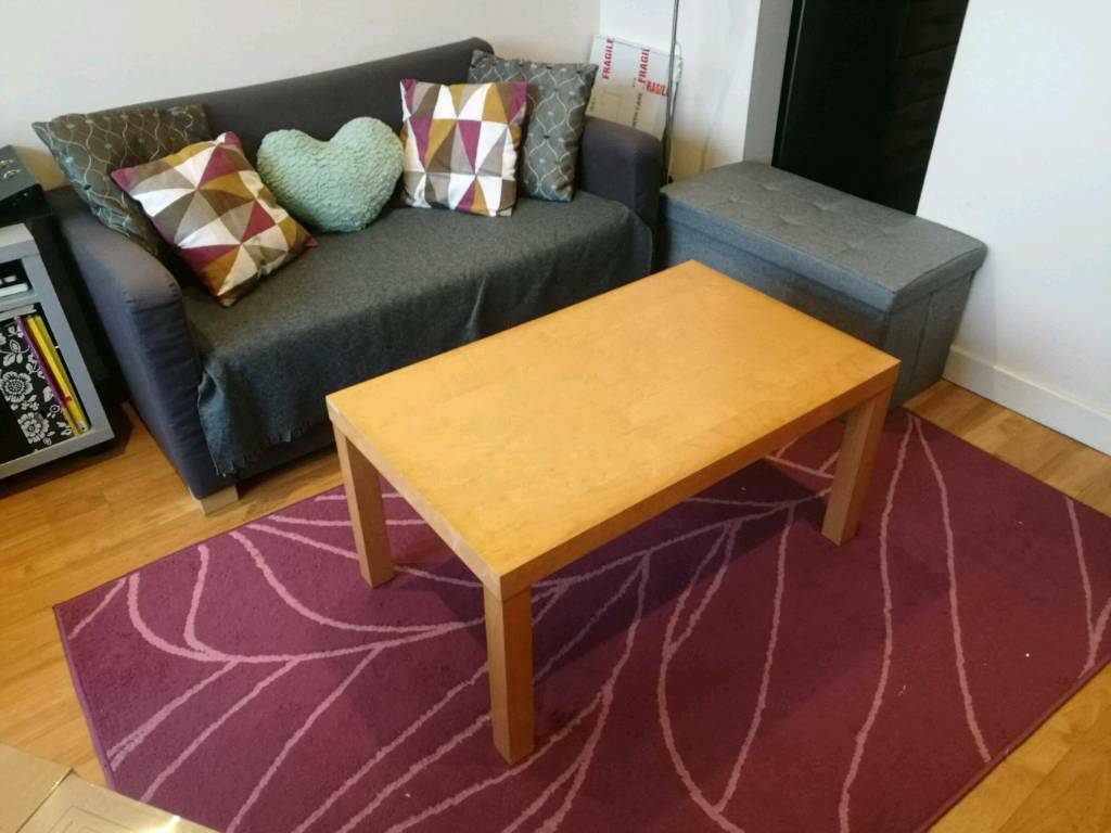 Ikea Lack Coffee Tables Oak And Birch In Digbeth West Midlands