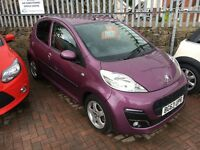 Peugeot 107 Allure 5 Door, Very Low, Miles, Zero Road Tax, One Owner, RAC Warranty and New MOT.