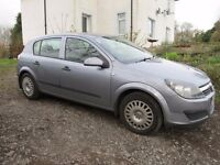 astra h 1.4 twinport very low mileage 1 year mot no advisorys