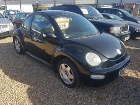 2004-53 VW beetle 1.6 black lovely condition LOW MILEAGE mini
