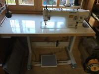 Jack industrial walking foot sewing machine quiet built in motor