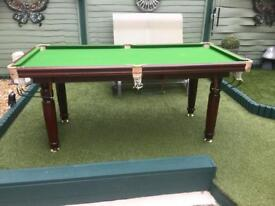 6ftx3ft snooker/pool table
