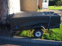 6x4ft Car Trailer