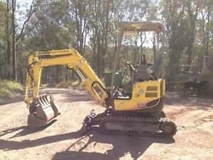 Excavator Yanmar VIO17 Gympie Gympie Area Preview