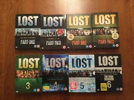 Lost DVD complete collection