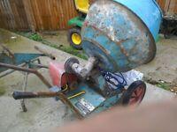 Barrow mix cement mixer