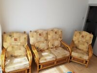conservotary chairs set of 3 for sale