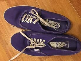 Purple original Vans