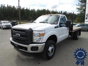 2013 Ford Super Duty F-350 DRW XL, 12' Flat Deck, 49,773 KMs