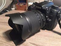 Nikon D7000 DSLR. Digital Camera with accessories.