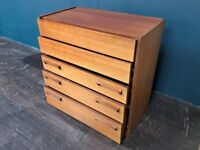 Chest of Drawers by Stag. Retro Vintage Mid Century