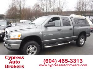 2006 Dodge Ram 3500 SLT (Leather & Power Sunroof)