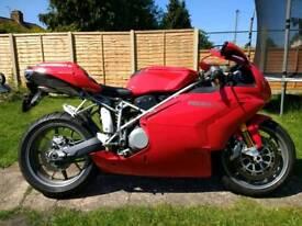 Ducati 999(not gsxr,r1,cbr fireblade,zx10r)low milage,£££ of extras