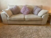 REDUCED Next settee 3 and 2 Seater + cushions 2 yrs old recently cleaned, £300 ono