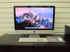 "ALLinONE APPLE iMac 27"" * 500GB SSD * Refurbished with 12 months warranty * Free accessories"