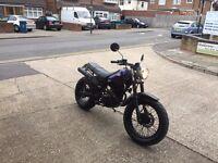 yamaha tw 125 one off bike