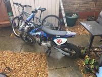 Stomp 90cc pit bike
