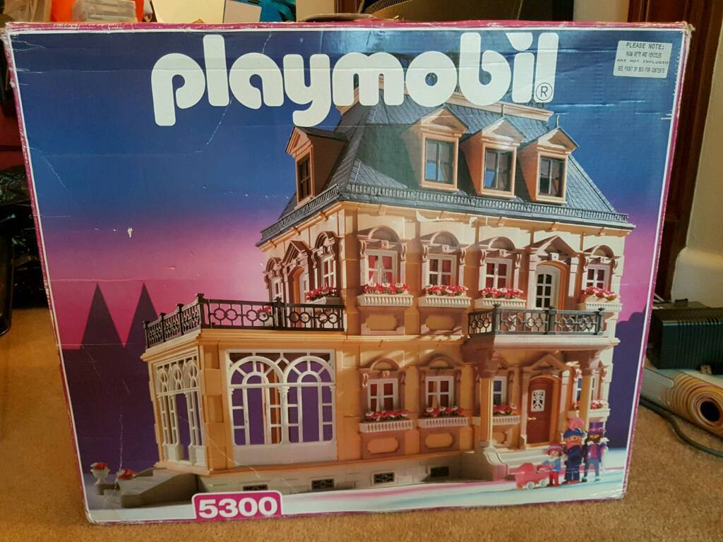 Playmobile Mansion 5300 plus sets