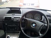 BMW X3 DIESEL 2.0 SWAP FOR CARAVANS