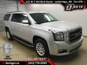 Used 2015 GMC Yukon XL 4WD SLE-Remote Start, 8 Passenger, Black