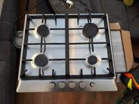 Bosch 4 ring gas hob used but workin condition