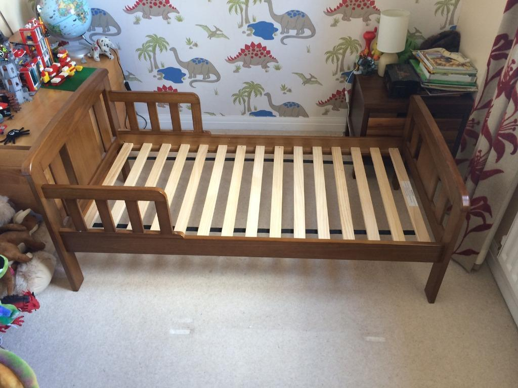 John Lewis Boris Toddler Bed In Excellent Condition With