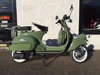 Neco Abruzzi 65' 125 50 125cc 50cc Retro Scooter Flexible Payment Terms Nationwide Delivery