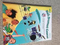 Kids drum set course with 2 CDs