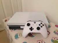Xbox One S 500GB Console, 6 month Microsoft warranty, Controller and battery pack included.