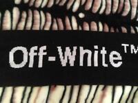Off White scarf (nike bape supreme gucci louis ralph lauren)
