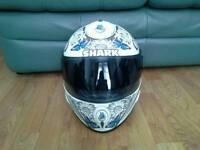 Shark motorbike helmet