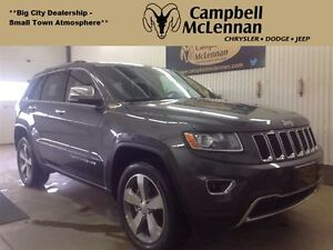 2016 Jeep Grand Cherokee Limited 3.6L V6 Heated Front/Rear Seats