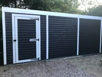 Workshop Shed fully insulated