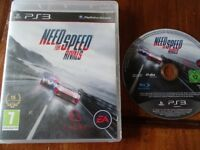 PLAYSTATION 3 GAME FOR SALE NEED FOR SPEED RIVALS excellent condition PS3
