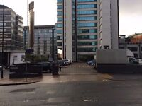 Secure, open air allocated parking with 24/7 access by ***PICCADILLY STATION***(1093)