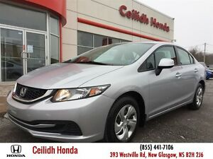 2013 Honda Civic LX (A5) Honda Plus Warranty!