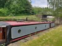 Canal boat 50ft