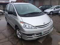 Toyota Previa 2.0 D-4D ( 8 st ) GLS - Manual - Diesel - Starts and Drives Spares