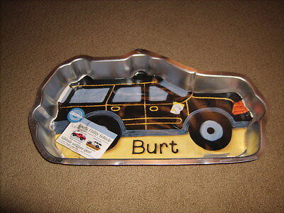 Wilton SUV TRUCK VEHICLE  Cake Pan Tin with Insert & Instructions-Never used