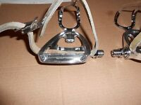 Campagnolo Triomphe pedals for vintage road racing / retro bike.
