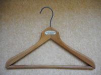 Vintage Wooden Hanger - West Ham Clothing Stores, West Ham E15