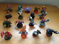 Skylanders swop force figures, some with cards